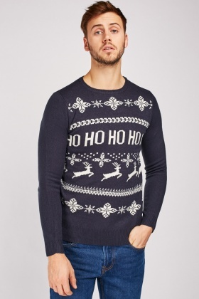 Ho Ho Ho Christmas Jumper