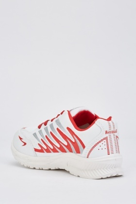 Mens Zig Zag Pattern Trainers