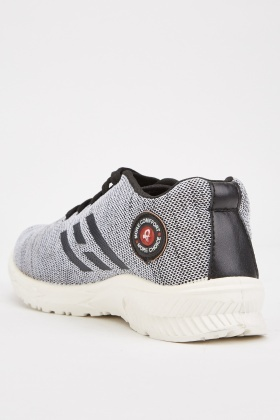 Applique Side Textured Trainers
