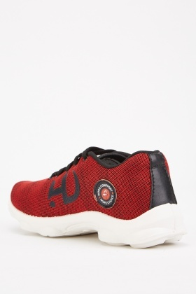 Low Top Applique Side Trainers