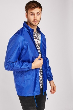Casual Waterproof Rain Jacket