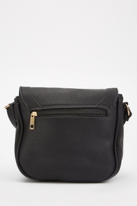 Flap Over Saddle Bag