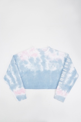 Tie-Dye Girls Sweatshirt