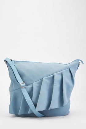 Ruffle Trim Cross-Body Bag