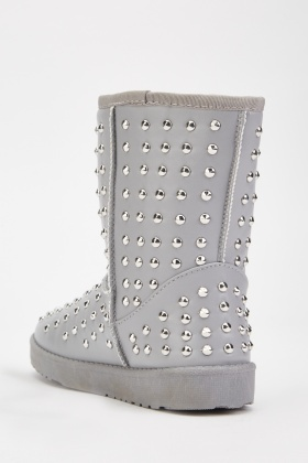 Studded Winter Boots