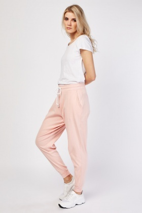 Relaxed Peach Joggers