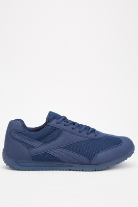 Mens Textured Trainers