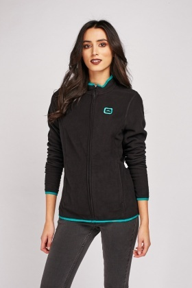 Bias Binding Fleece Sports Jacket