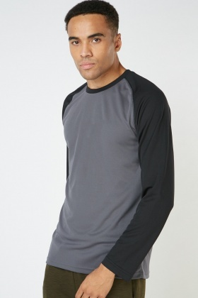 Raglan Sleeve Breathable Sports Top