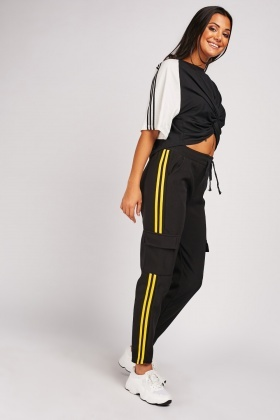 Flap Pocket Side Jogger Pants
