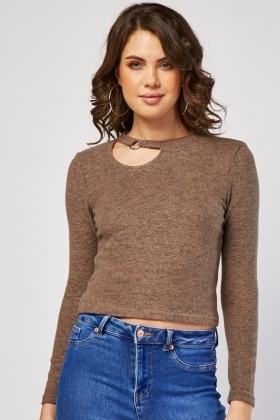 O-Ring Keyhole Speckled Top