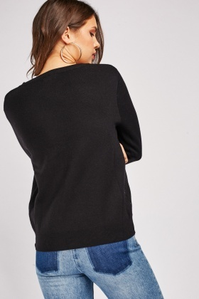 Sequin Vogue Knit Jumper