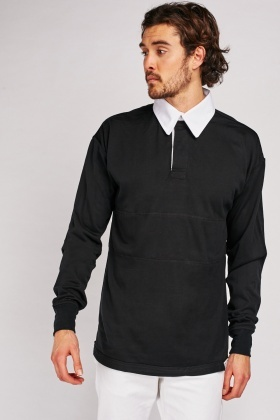 Long Sleeve Polo Sports Top