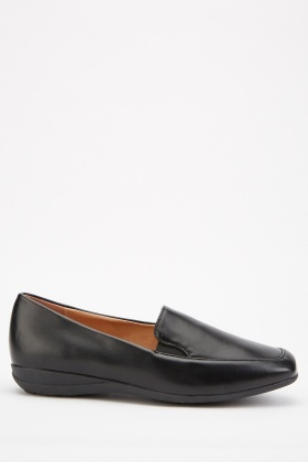 Low Heel Slip On Shoes