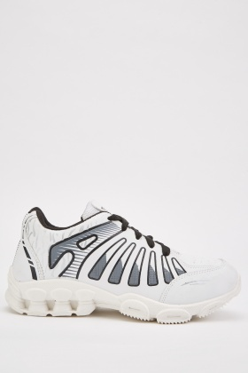 Mens Lace Up Chunky Trainers