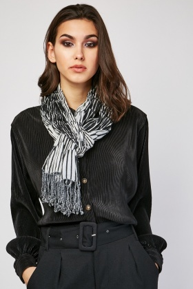 Illusion Printed Scarf