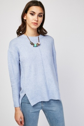Slit Side Knit Jumper