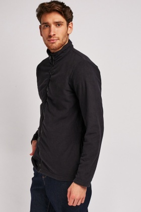 Zip Up Casual Fleece Jacket