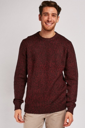 Chunky Speckled Knit Jumper
