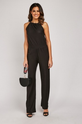 Strappy Wide Leg Jumpsuit