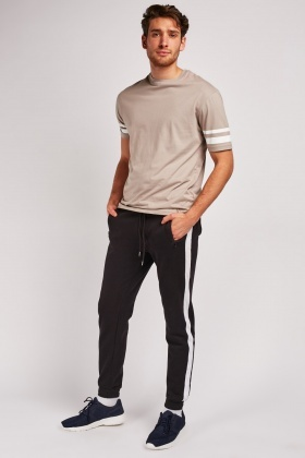Stripe Side Jogger Pants