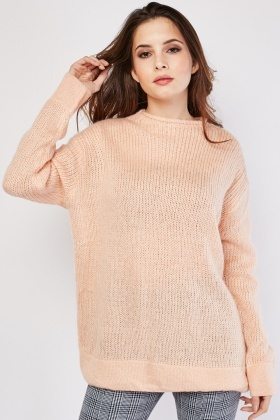 Loose Knit Slouchy Jumper