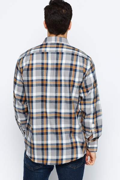 Fleece Check Shirt
