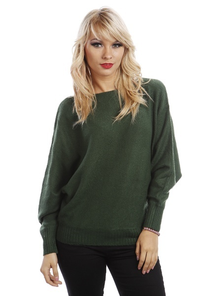 Soft Knit Batwing Jumper