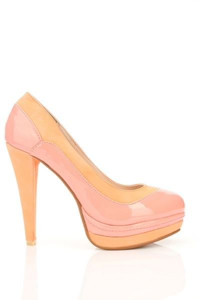 Patent PVC & Faux Leather Spectator Shoes