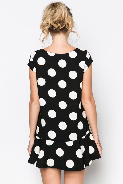 Polka Dot Tunic Dress