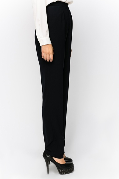 Tailored Navy Trousers