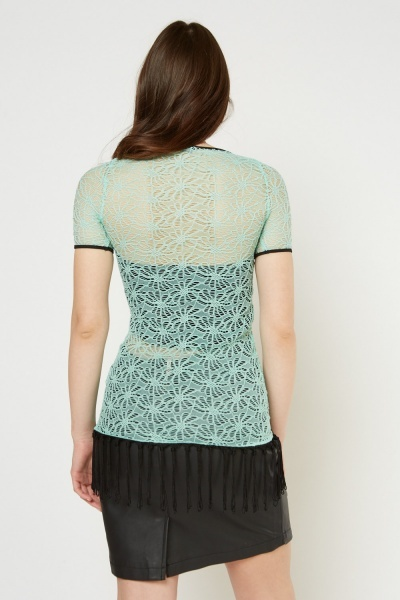 Crochet Lace Tunic