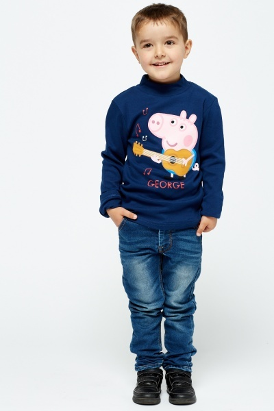 George Pig Long Sleeve Top