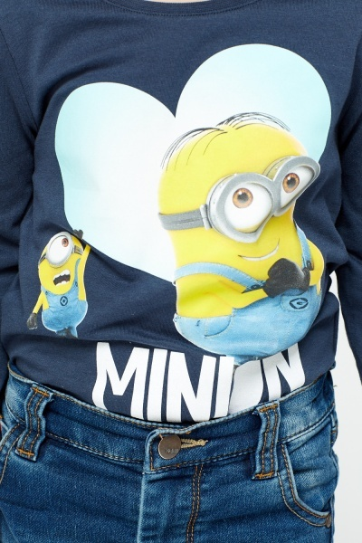 Navy Minion Top
