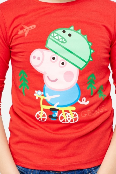 Red George Pig Top