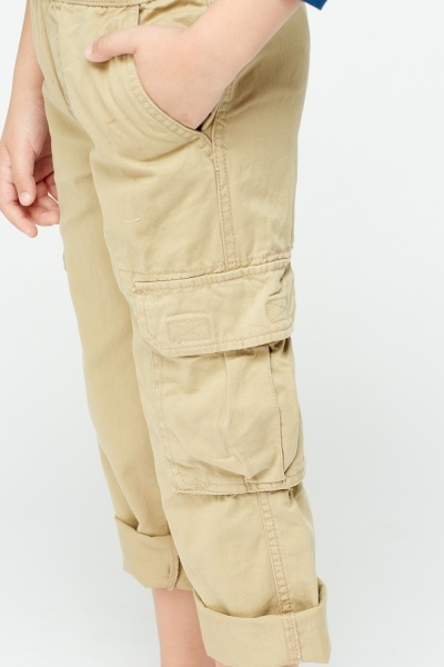 Cotton Blend Combat Trousers