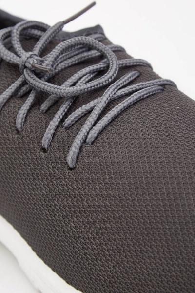 Grey Mens Trainers
