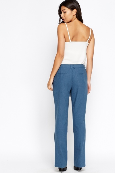 Middle Blue Formal Trousers