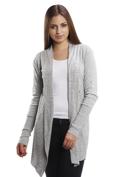 Buttoned Side Knit Cardigan