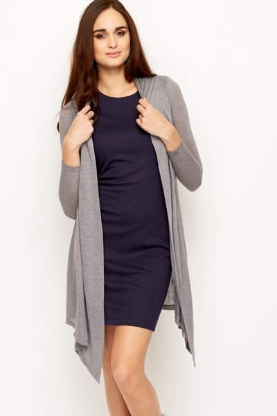 Long Waterfall Cardigan