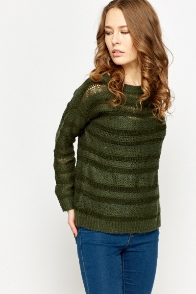 Loose Stripe Jumper