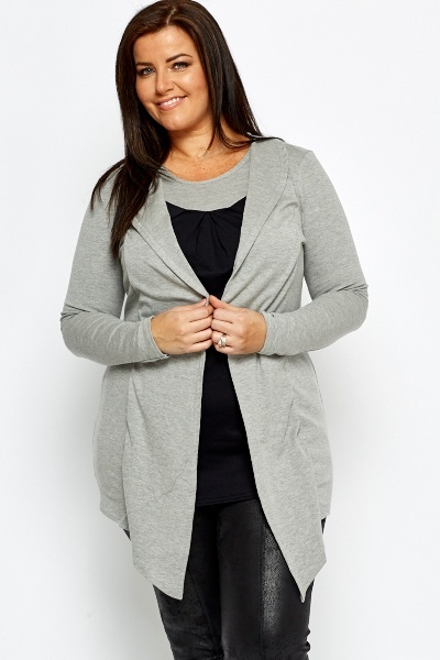 Contrast Two In One Tunic
