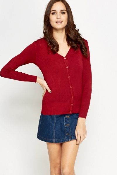 Casual Thin Knit Cardigan