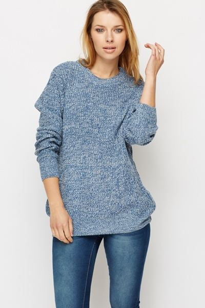 Oversized Chunky Knit Jumper