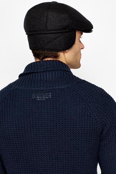 277f790f8 Wool Blend Drop Flat Cap