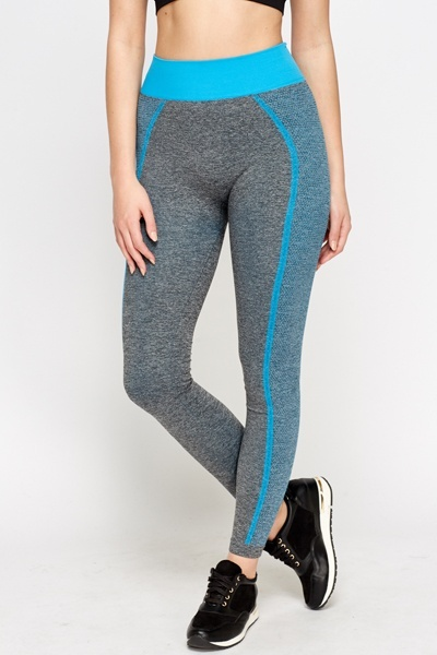 Elasticated Colour Trim Slim Joggers