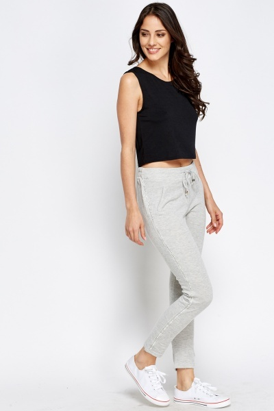 Diamante Trim Joggers