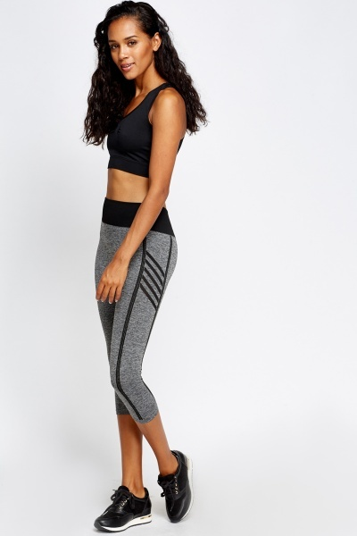 Cropped Sports Leggings