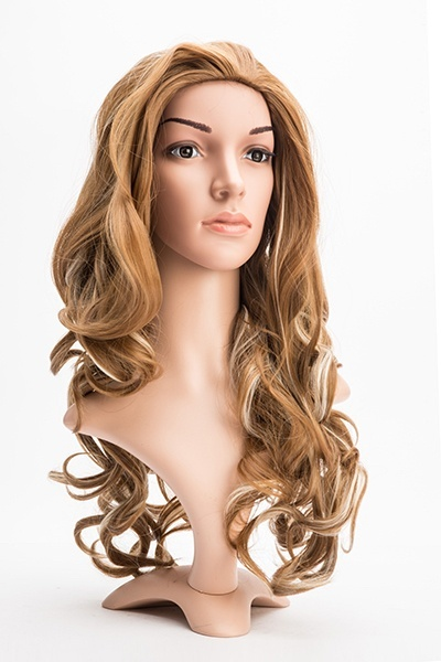 Curly Two Tone Wig