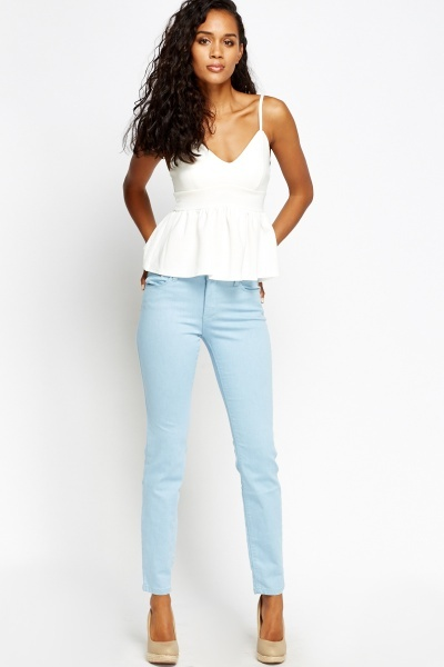 Mid Rise Regular Jeans